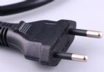 巴西电源线NBR6147 两芯Inmetro安规认证TUV电源连接线插头