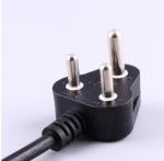 南非电源线,6A小南非插头,16A大南非插头,IEC60320 C19母插,服务器,数据库,PDU电源线 ,定制电线长度,SABS认证