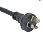 澳大利亚电源线(SAA电源线)三芯AS 3112 15A重型 (HEAVY DUTY)澳大利亚SAA认证规标准AC电源连接线插头