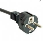 韩国电源线(KC电源线)直角三芯韩国KSC8305安规标准KTL认证AC电源连接线插头