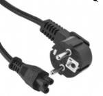 韩国电源线,三芯接地弯角插头,IEC 60320 C5米老鼠插头 ,梅花插,笔记本电源线 ,定制电线长度,KTL,KC认证