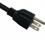 日本电源线 (PSE电源线) 日本PSE JET认证三芯15A弯角JIS C8303标准AC电源连接线插头