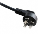 中国电源线 (3C电源线) 国标CCC认证三芯10A弯角 GB2099标准AC电源连接线插头