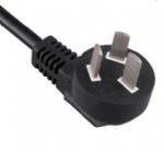 中国电源线 (3C电源线) 国标CCC三芯16A大插片,空调插头,电源线长度定制,GB2099标准AC电源连接线