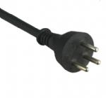 以色列电源线(SI电源线) 直角三芯16A以色列认证SI-32安规标证AC电源连接线插头