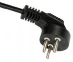 以色列电源线(SI电源线) 弯角三芯16A以色列认证SI-32安规标证AC电源连接线插头