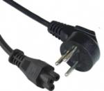 以色列电源线,弯角三芯,16A以色列插头,IEC 60320 C5米老鼠插座, 梅花插,笔记本插座,SII认证
