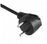 以色列电源线 (SI电源线) 两芯弯头16安,以色列SI认证规SI-32标准AC电源连接线插头