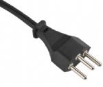 瑞士电源线(SEMKO电源线)三芯SEV 1011 瑞士SEMKO VDE认证规标准AC电源连接线插头