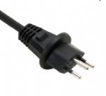 瑞士电源线(SEMKO电源线)瑞士户外防水IP44 三芯SEV1011 SEMKO认证规标准AC电源连接线插头