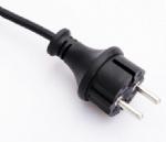 欧洲电源线 (IP44 电源线) 户外防水CEE7/17 欧盟德国通用VDE安规认证16安250伏插头