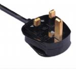 英国电源线 (UK电源)带保险丝装配式大英BSI1363 ASTA 认证安规标准AC电源连接线插头