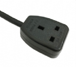 英国电源线 (UK电源) 英国BS认证安规标准AC电源连接线三孔插座