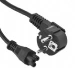 欧洲电源线 (Schuko电源线) CEE7/7烟斗插,IEC 60320 C5米老鼠插头 ,梅花插,笔记本电源线,定制长度,欧盟德国通用,VDE,CE安规认证