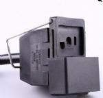 镇流器电源线,阳光插座镇流器灯具插座,带滑动盖子,铁支架,定制电源线长度,美国UL,加拿大cUL认证