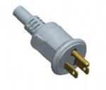 美国电源线 (UL电源线) 三芯防水插头 NEMA 5-15P 美国UL加拿大cUL认证安规标准AC电源连接线
