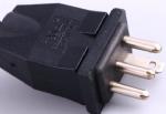 美国电源线四芯,阳光插头,镇流器插头,定制电源线长度,美国UL,加拿大cUL认证