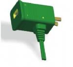 美国电源线 (UL电源线)两芯弯头带USB NEMA 1-15P插头 美国UL加拿大cUL认证安规标准AC电源连接线