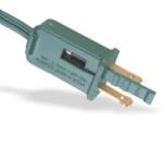 美国电源线 (UL电源线)两芯带5安保险丝装配式NEMA 1-15P 美国UL加拿大cUL认证安规标准AC电源连接线插头