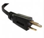 美国电源线 (UL电源线) NEMA 5-15P 5A保险丝插头 美国UL加拿大cUL认证安规标准AC电源连接线