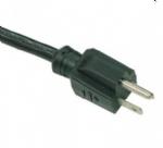 美国电源线 (UL电源线)NEMA 5-15P 美国UL加拿大cUL认证安规标准AC电源连接线插头
