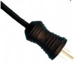 美国电源线,医用电源线,医用插头,15A , 125V, 三芯U形接地针,北美ETL认证安规标准AC电源连接线