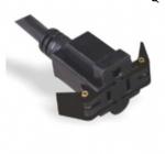 美国电源线 (UL电源线)三芯直头 易拔出 NEMA 5-15R插座 美国UL加拿大cUL认证安规标准AC电源连接线