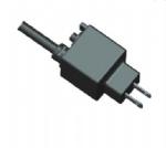 美国电源线 (UL电源线)两芯直头NEMA 1-15P带过载保护插头 美国UL加拿大cUL认证安规标准AC电源连接线