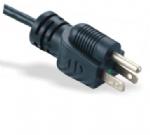 美国电源线 (医用插头) 三芯直头NEMA 5-15P带绿点美国UL加拿大cUL认证医用电源线