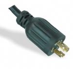 美国电源线 (UL电源线)L14-30P 自锁插头 美国UL加拿大cUL认证安规标准AC电源连接线