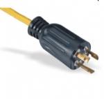 美国电源线 (UL电源线)L5-15P 自锁插头 美国UL加拿大cUL认证安规标准AC电源连接线
