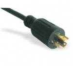 美国电源线 (UL电源线)L6-15P 自锁插头 美国UL加拿大cUL认证安规标准AC电源连接线
