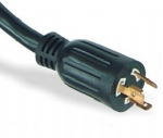 美国电源线 (UL电源线)L6-20P自锁插头 美国UL加拿大cUL认证安规标准AC电源连接线