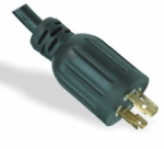 美国电源线 (UL电源线)L14-20P 自锁插头 美国UL加拿大cUL认证安规标准AC电源连接线