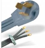 美国电源线 (Rang Dryer Cord)NEMA 10-50P 50A重型干燥机插头 美国UL加拿大cUL认证安规标准AC电源连接线