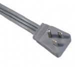 美国电源线 (UL电源线)三芯弯头NEMA 5-15P 美国UL加拿大cUL认证安规标准AC电源连接线插头