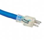 美国电源线 (UL电源线)三芯透明NEMA 5-15P 美国UL加拿大cUL认证安规标准AC电源连接线插头