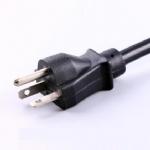 美国电源线 (UL电源线)直头NEMA 6-20P 美国UL加拿大cUL认证安规标准AC电源连接线插头