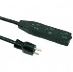 美国延长线(室内延长线)UL延长线,5-15P三孔插座 美国UL加拿大cUL认证安规标准AC电源延长线